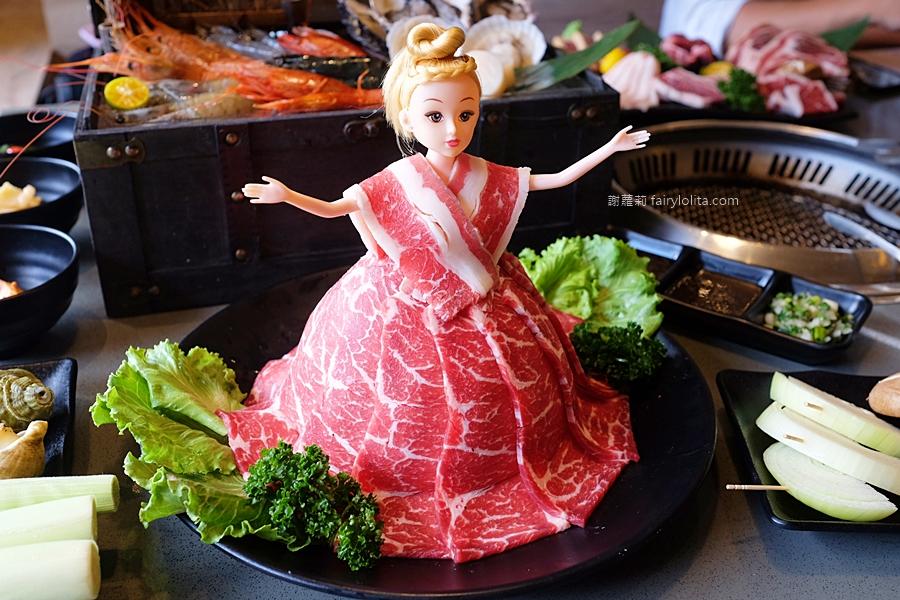 超夯の燒肉頂級和牛燒肉吃到飽(桃園中秋節燒肉推薦)林口店。只要699元,大口嗑和牛、生猛海鮮,超過70種食材讓你吃到爽! @蹦啾♥謝蘿莉 La vie heureuse