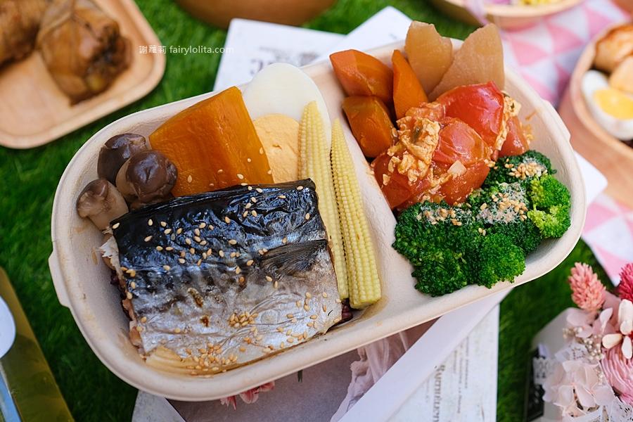 日輕好食。八德便當推薦  99元讓你吃飽飽,高蛋白減脂低熱量餐盒,帶著一起來去野餐吧! @蹦啾♥謝蘿莉 La vie heureuse