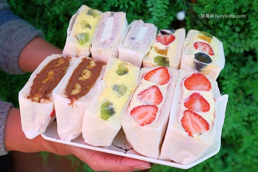 讓草莓控都失心瘋,近期爆紅超爆餡三明治,每天限時限量3小時就完售!