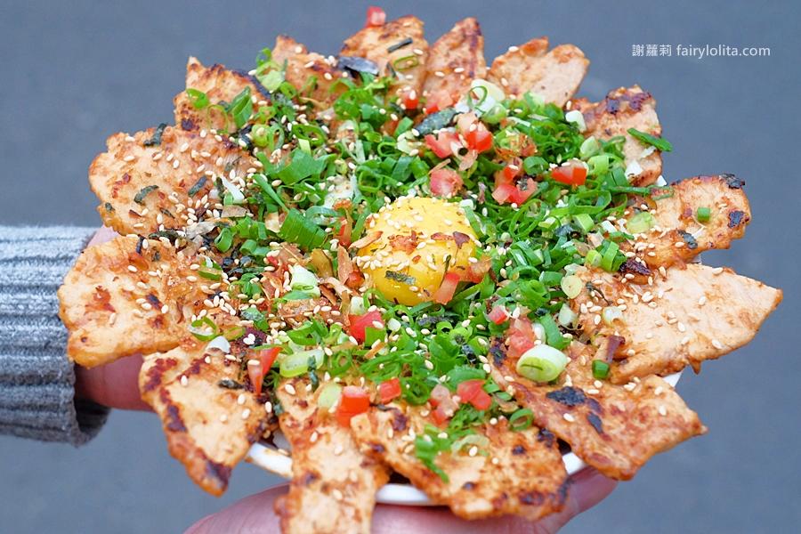 DSCF5941 - 幸福小館 | 肉肉控快筆記!史上超狂浮誇系丼飯,大器用料、肉片多到爆出來!