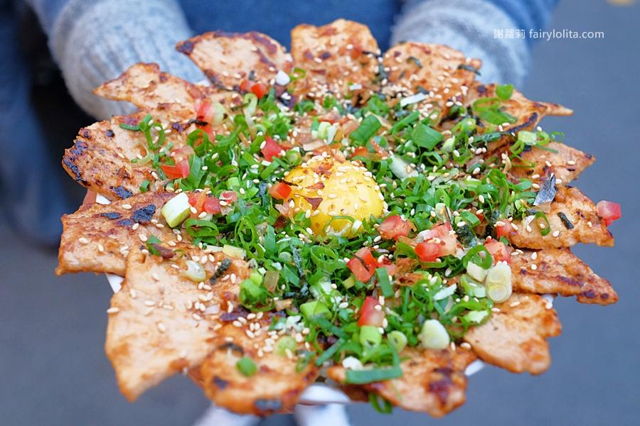 DSCF5947 - 幸福小館 | 肉肉控快筆記!史上超狂浮誇系丼飯,大器用料、肉片多到爆出來!