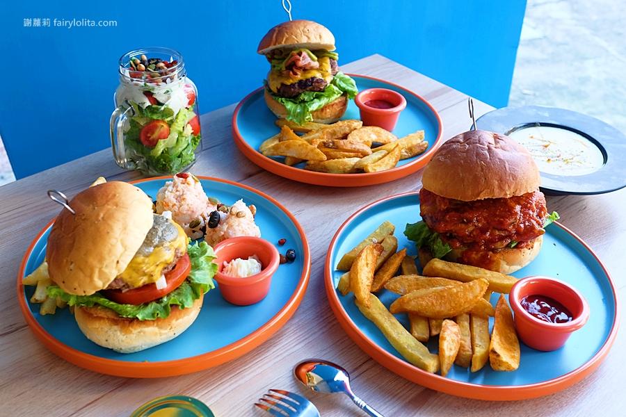 最新推播訊息:巨大漢堡一手難掌握,5cm厚漢堡排一咬噴湯、滿嘴肉汁太邪惡!
