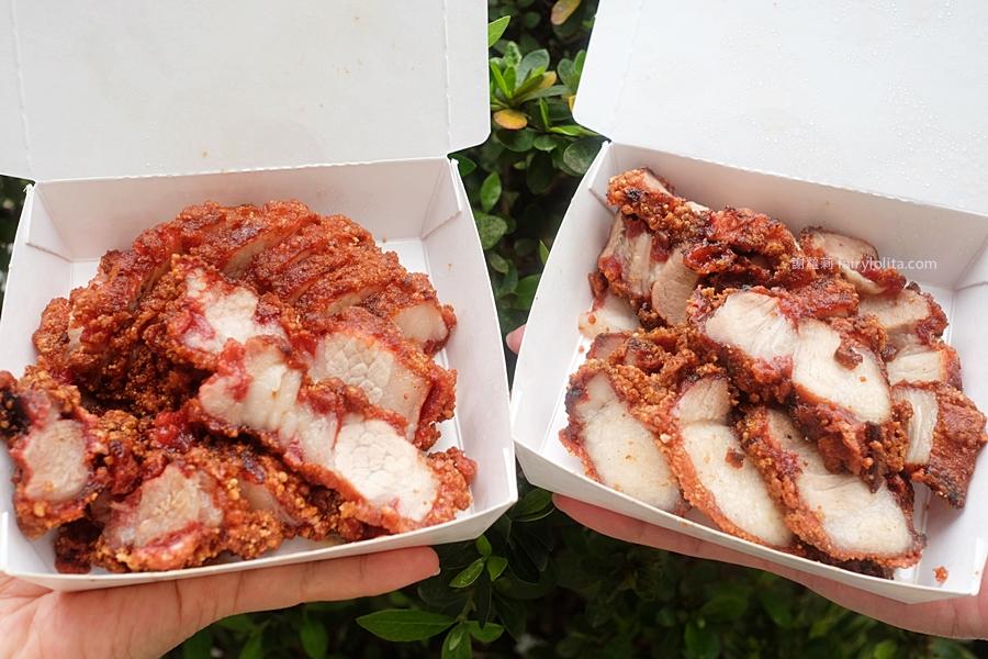 廖家祖傳紅糟。一天只賣4小時,號稱全台北最好吃紅糟肉,營業時間人潮排到翻過只為搶吃這一盒! @蹦啾♥謝蘿莉 La vie heureuse
