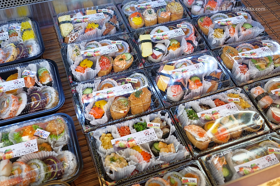 DSCF7520 - 天皇壽司 | 低調隱藏傳統菜市場,還沒打烊全部被搶光!