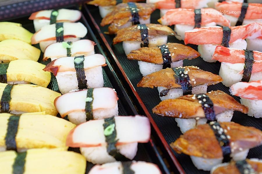 DSCF7542 - 天皇壽司 | 低調隱藏傳統菜市場,還沒打烊全部被搶光!