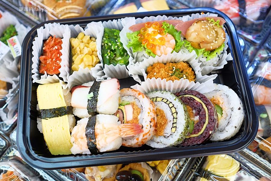 DSCF7545 1 - 天皇壽司 | 低調隱藏傳統菜市場,還沒打烊全部被搶光!