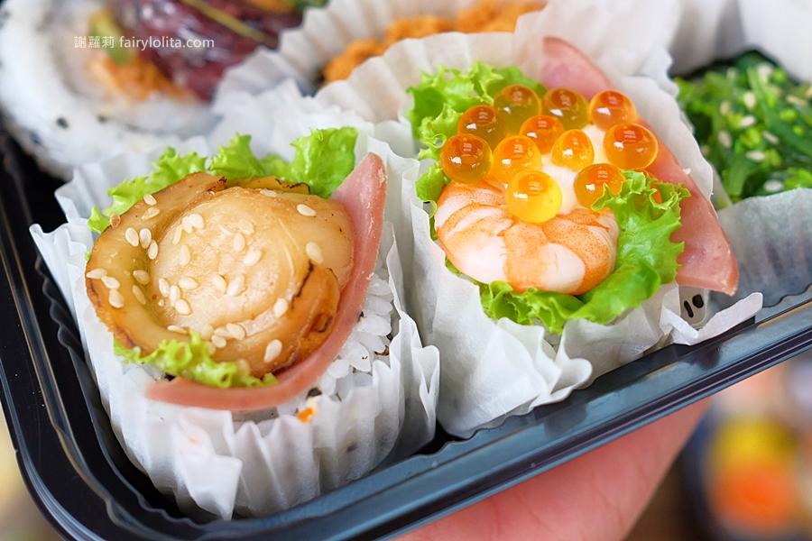 DSCF7555 - 天皇壽司 | 低調隱藏傳統菜市場,還沒打烊全部被搶光!
