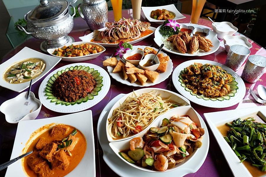 台中美食 | 曼谷皇朝。挑戰全台超高CP值泰式料理,只要59元就能吃得到,消費滿700元再送椒麻雞! @蹦啾♥謝蘿莉 La vie heureuse