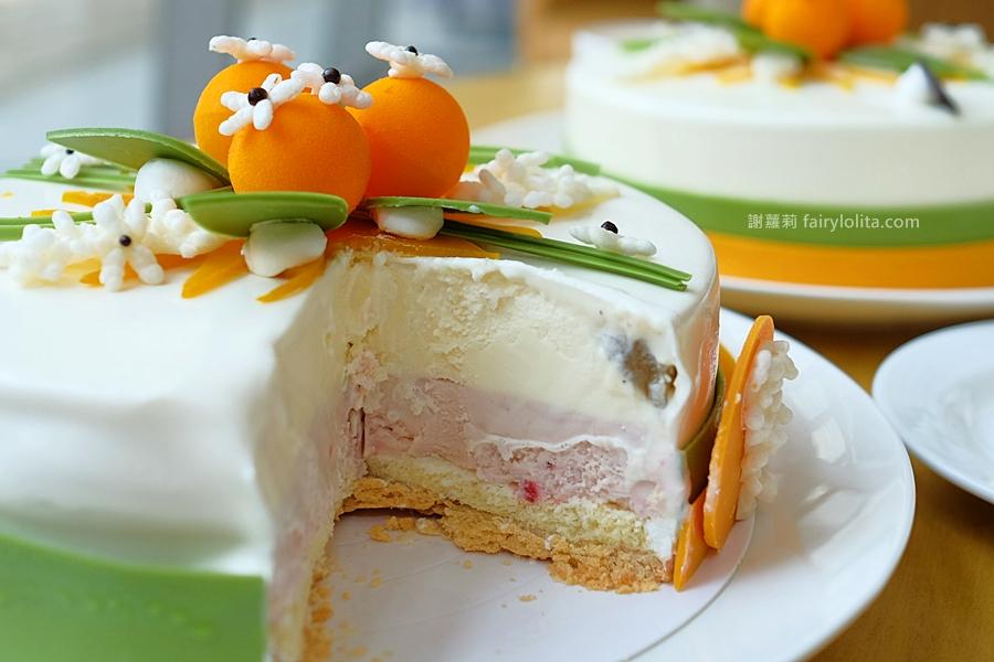 台中美食 | Haagen-Dazs 哈根達斯。全台只有這裡買得到!獨家限量「茉莉花」、「橙花」母親節冰淇淋蛋糕全新上市! @蹦啾♥謝蘿莉 La vie heureuse