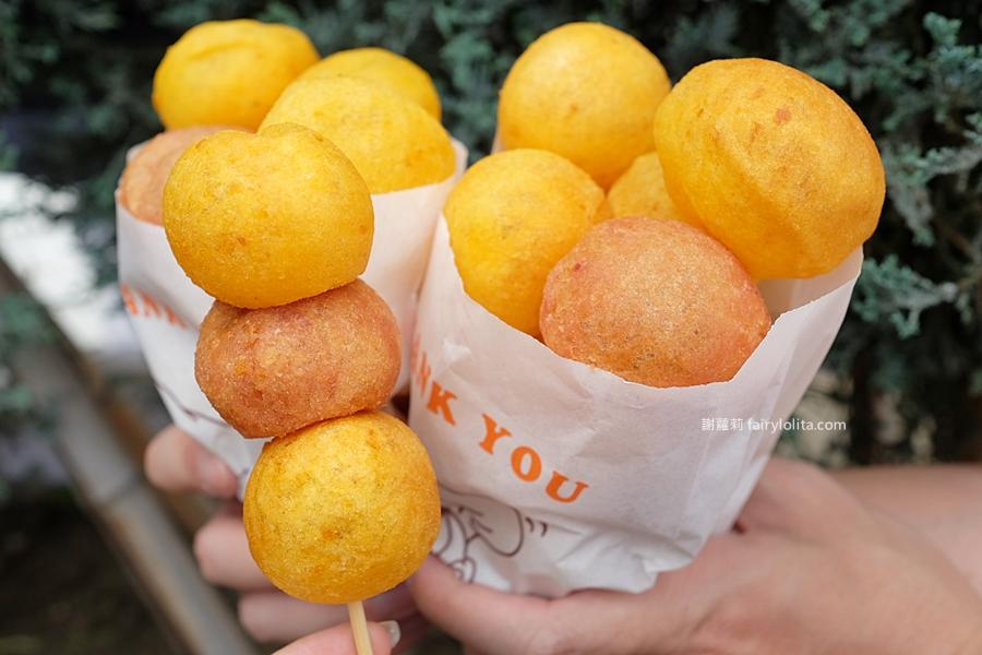 微笑地瓜球(土城延和店)。必吃巨型地瓜球出沒!一顆抵二顆,整袋塞滿滿只要銅板價! @蹦啾♥謝蘿莉 La vie heureuse