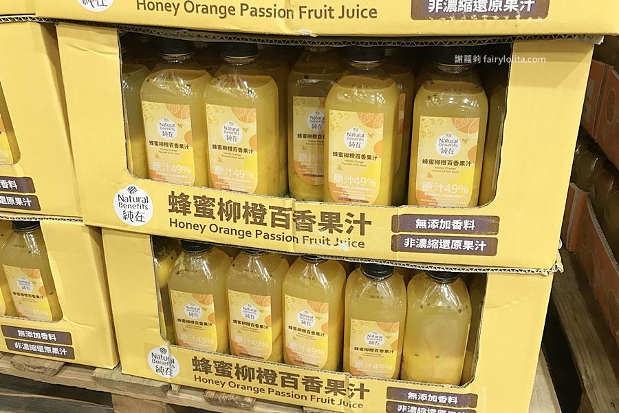 costco 好市多爆紅果汁系列推新品,一上架就被瘋搶,香甜「蜂蜜柳橙百香果汁」大家喝過了嗎? @蹦啾♥謝蘿莉 La vie heureuse